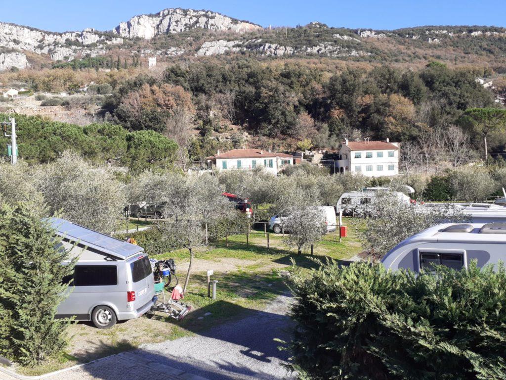 area tende campeggio finale freeride