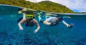 snorkeling a finale ligure